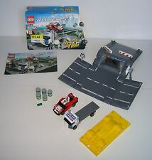 8198 LEGO Racers Ramp Crash 100% Complete w Sleeve & Instructions EX COND 2010