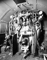 OLD TRAIN PHOTO The Firebox Of A London Midland And Scottish Railway 460