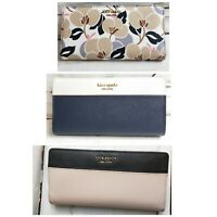 NEW Kate Spade Cameron Large Slim Bifold Leather Wallet Credit Card WAS $119