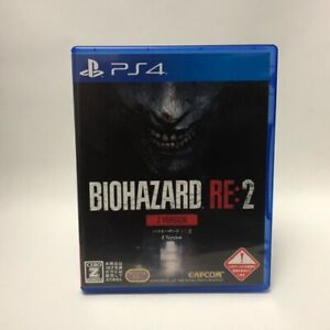 PS4 BIOHAZARD RE:2 Z Version Play station 4 JAPAN Used