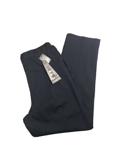 NWT Lighthouse By Lands' End Straight Leg True Navy Blue Twill Pants Size 10P