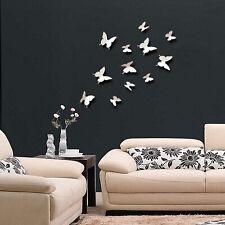 3d Mariposa pegatinas de pared / Mariposas médicos / Arte / bricolaje Decoraciones De Papel