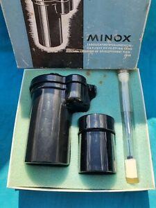 MINOX FILM DEVELOPING TANK THERMOMETER BOXED CAMERA
