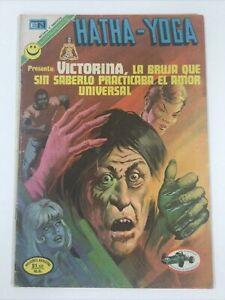 1972 SPANISH COMICS HATHA YOGA #1 VICTORINA LA BRUJA EDITORIAL NOVARO MEXICO