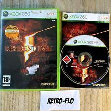 Resident Evil 5 - Jeu Xbox 360 Complet