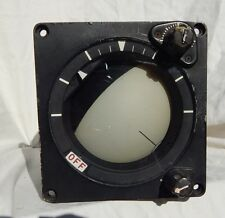 US Army  USN UH-1 Huey Helicopter Pilots Attitude Indicator Instrument Gauge