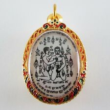 Real Gold plated Pendant Charm Sorcery Attract Sex Lust Love Powerful Gay Amulet