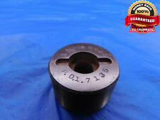 1 34 16 Thread Plug Gage 175 No Go Only Pd 7135 1750 17500 Inspection