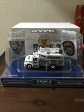 CODE 3 NYPD 1:64 Emergency Support Dive Boat #12552 3503 POLICE ESU TRUCK