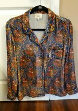 Sezane + Manoush blouse size 40 multicolored