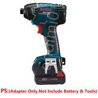 Milwaukee M18 RED 18V Slider Li-ion Battery To Bosch 18V Cordless Tools Adapter