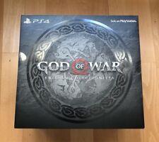 God of War PS4 Edición Coleccionista ESPAÑA EUROPEAN Edition NUEVO PRECINTADO