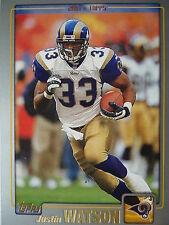 NFL 187 Justin Watson St. Louis Rams Topps 2001