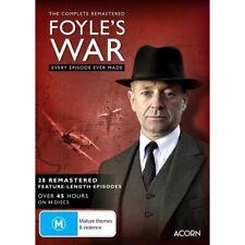 Foyle's War Complete Series Collection Remastered DVD Region 4 R4 Foyles