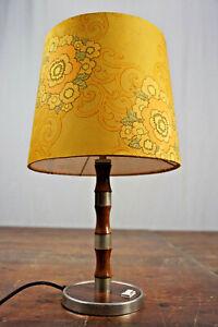 Table Lamp Floor Lamp Jacaranda Vintage 60s Danish Modern Lamp Light 60er