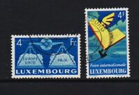 Luxembourg - Two 1950s issues, cat. $ 43.50