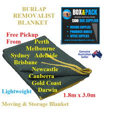 5 x furniture protection removalist pads moving blankets burlap padded blanket