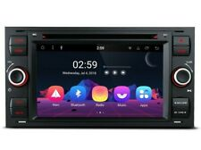 RADIO DVD GPS FORD FOCUS CMAX SMAX KUGA FIESTA COLOR NEGRO CON ANDROID 8.1. 24H