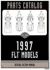 1997 HARLEY-DAVIDSON FLT TOURING PARTS CATALOG MANUAL -FLHTC-FLHT-FLHR-FLHTCUI