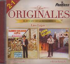 Lino Lujan 2 en 1 Los Originales CD New Nuevo sealed
