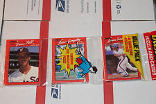 1990 Donruss Rack  Baseball Packs!! Vintage unopened Lot.