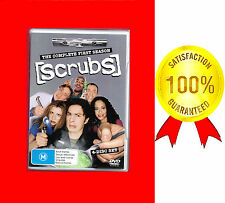 VERY GOOD DVD, THE COMPLETE FIRST SEASON SCRUBS,4-DISC SET + 5 SPECIAL FEATURES*