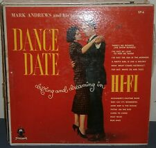 Dance Date Mark Andrews & Orchestra Drifting & Dreaming in HiFi SP-6 Vinyl-NM
