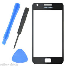 Black Outer Glass Screen Replacement for Samsung Galaxy Mobile Phone S2 i9100