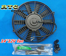 "14"" 12V Thermo Radiator Cooling Fan GTI/V8/GTR/GTS + Mounting kit"