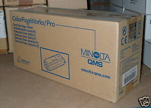 QMS Konica Minolta Colour Pagepro Yellow toner 1710437