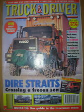 TRUCK & DRIVER MAGAZINE MAY 1996 IVECO OVERLAND ROME TO NEW YORK