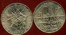 10 francs  mathieu  1977  TRANCHE  B    SPL  ( bis )