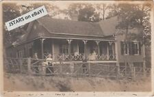 1910 BLACK MOUNTAIN, NC, SUMMER COTTAGE POSTCARD RPPC