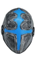Outdoor Silver Paintball Airsoft Full Face Protection Red Cross Mask Cosplay 611