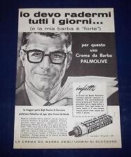 A077-Advertising Pubblicità-1959-CREMA DA BARBA PALMOLIVE