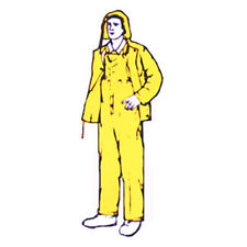 Large Safety Yellow Rain Suits