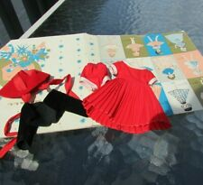 """Betsy McCall Doll Holiday Outfit Rare 2nd Version Box 1958 8"""" Vintage Original"""