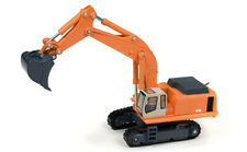 Hydraulic Tracked Excavator Construction Orange CMW 1:87 HO Scale Vehicle