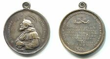 "alte Medaille ohne Jahr ""S.Franciscus Assisiensis"""