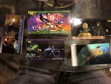 2009 Topps Star Wars Clone Wars Widevision Set with Inserts