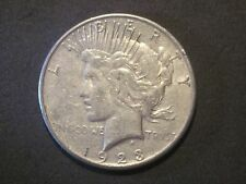 Circulated 1923 S Peace Silver Dollar Ungraded Uncertified Business Strike