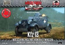 First to Fight 1/72 Kfz.13 Maschinengewehrkraftwagen # 006