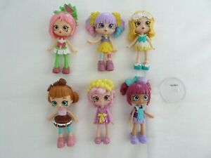 Shopkins Happy Places Lil' Shoppies dolls- bulk lot -Pippa Kate Daisy Kiki Tippy