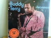 BUDDY  TERRY                     LP       AWARENESS     (  SEALED  ALBUM )