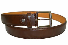 BELT MENS JEANS BROWN  ALL SIZES 30