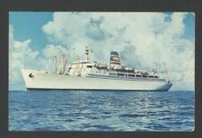 Postcard SS Mariposa - SS Monterey Twin Luxury Liners Pacific Far East Line