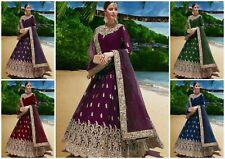 Bollywood Indian Anarkali Suit Party Wear Salwar Kameez Indian Pakistani Dress K