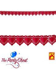 4 M Rojo Amor Corazón Guirnalda Banderines romántico Día De San Valentín Boda Fiesta Banner