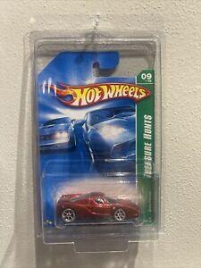 Hot Wheels 2007 SUPER Treasure Hunt Enzo Ferrari Red Seats W/ Protector UNOPENED