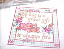 """Design Works A HUG FITS  Counted Cross Stitch Kit 14"""" x 11"""""""